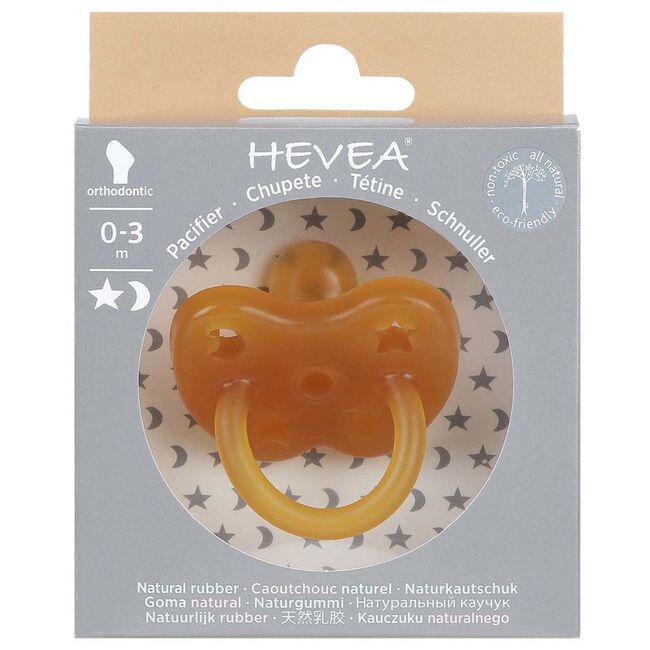 Hevea fopspeen Classic 0-3 maanden - orthodontisch 100% natuurlijk rubber -