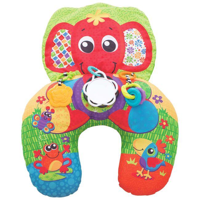 Playgro elephant hug activity pillow - Multi