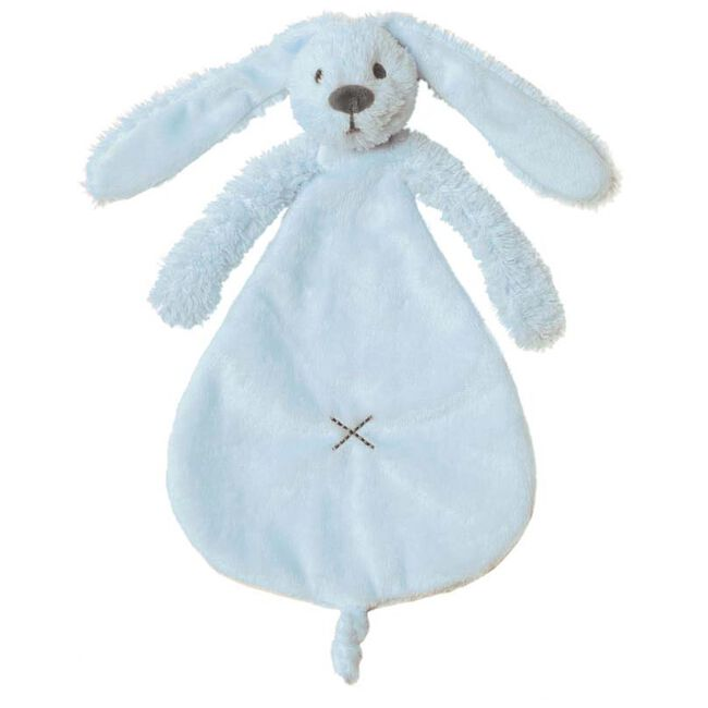 Happy Horse Rabbit Richie Blue knuffeldoekje - Light Blue