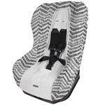 Dooky autostoelhoes groep 1 by Prenatal - Grijs Met Zwarte Zigzag