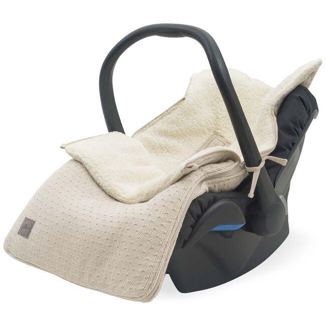 Jollein voetenzak autostoel groep 0 Bliss Knit -
