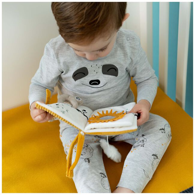 Prénatal peuter unisex pyjama - Grey Melee Light