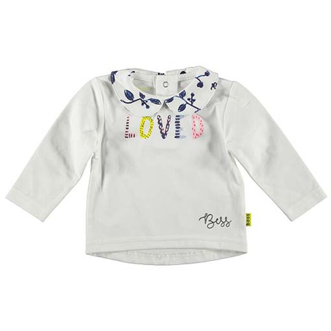 Bess baby meisjes T-shirt - White