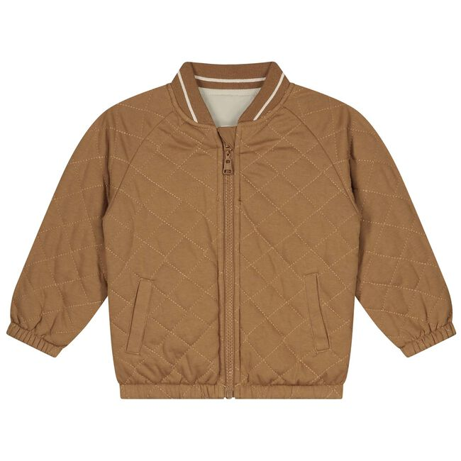 Prénatal peuter jongens zomerjas - Brown Shade