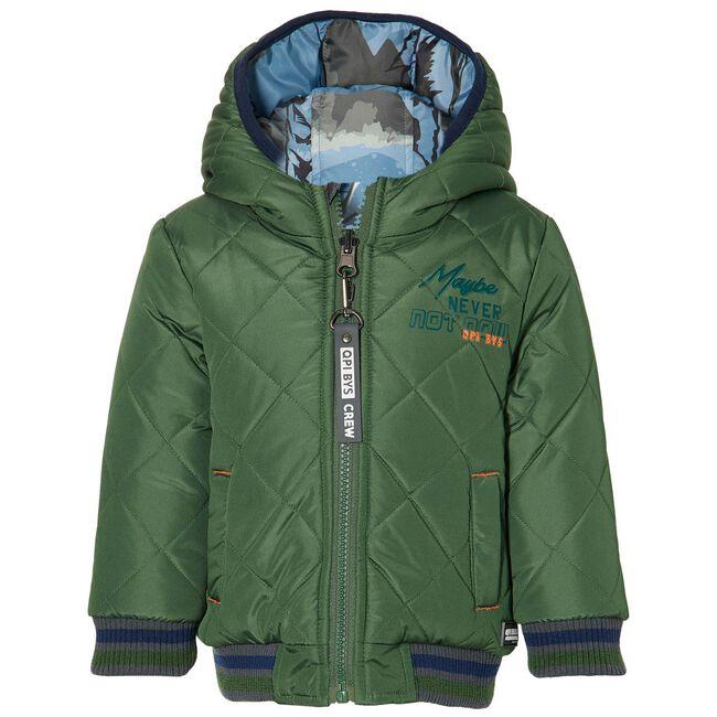 Quapi peuter jongens winterjas - Darkgreen