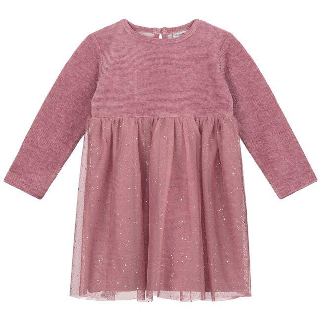 Prenatal baby meisjes jurk - Light Purpleshade