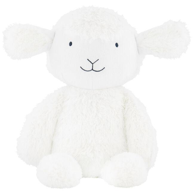 Prénatal knuffel schaap 40cm - White