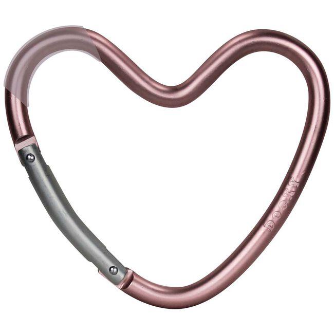 Dooky haak hart - Pink