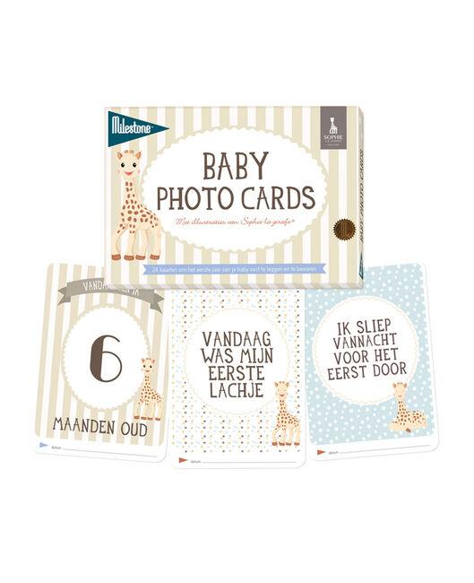 Milestone Sophie de Giraf baby fotokaarten - Multi