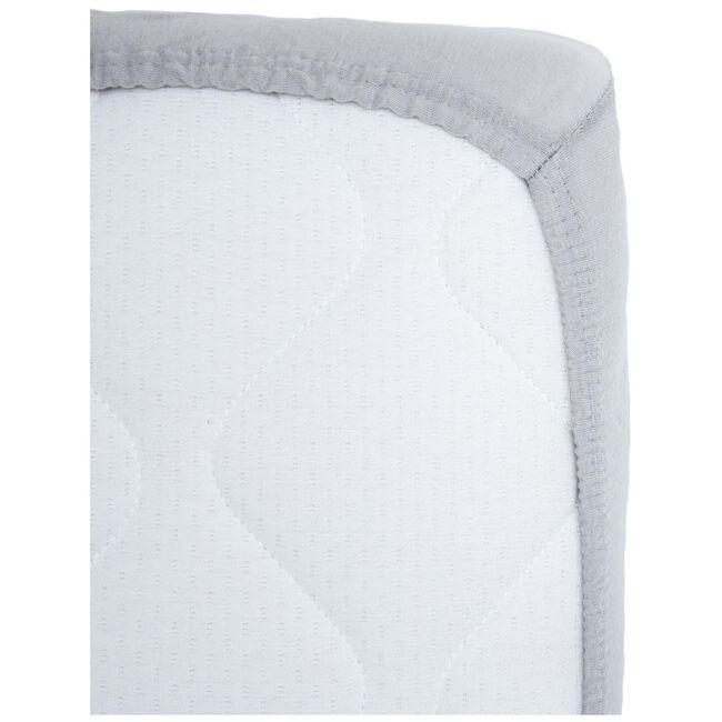 Prénatal junior hoeslaken jersey grijs - Geen Kleurcode