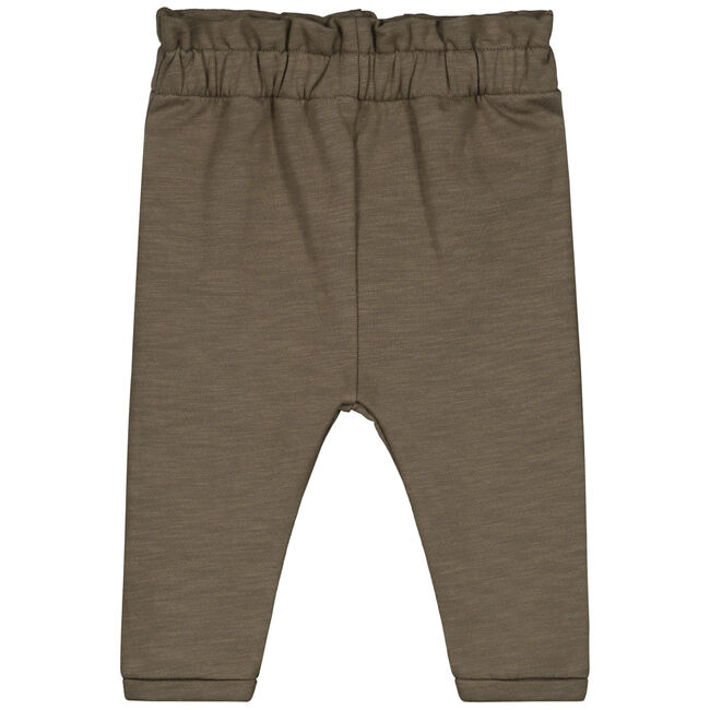 Sweet petit baby broekje Tess - Dark Taupe Brown