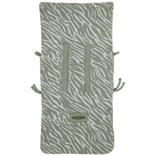 Meyco voetenzak Zebra -