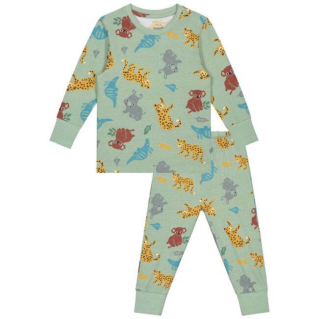 Prénatal baby jongens pyjama - Soft Green