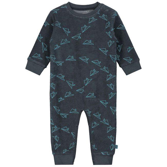 Prenatal baby pyjama jongens - Dark Bluegrey