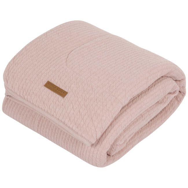 Little Dutch ledikantdeken pure en soft - Pink
