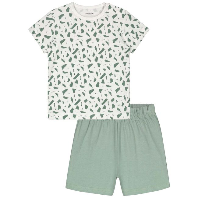 Prénatal peuter jongens pyjama - White