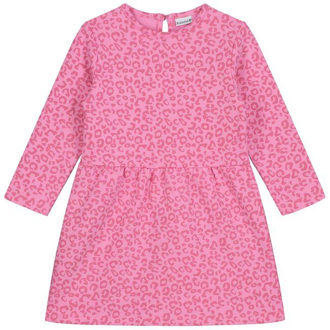 Prénatal baby meisjes jurk - Fuchsia Red