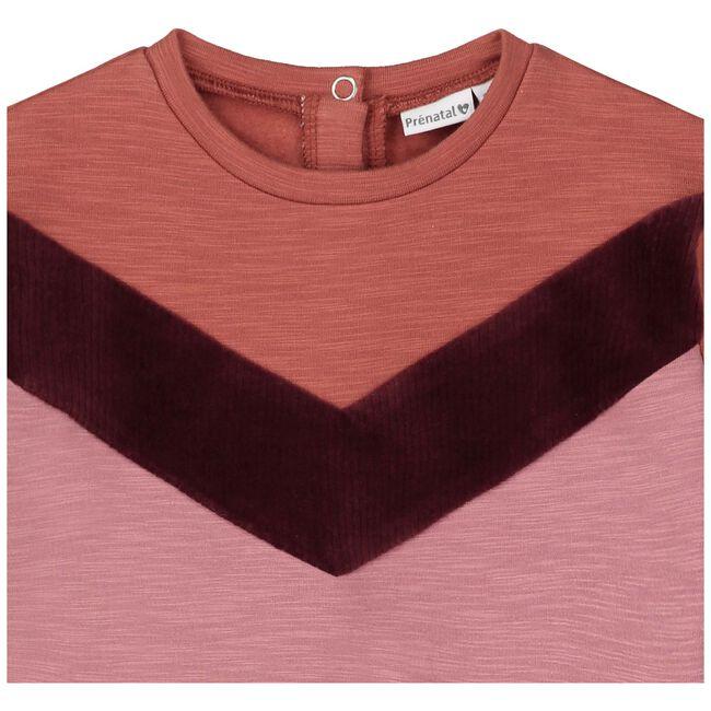 Prenatal baby meisjes sweater - Deep Orange