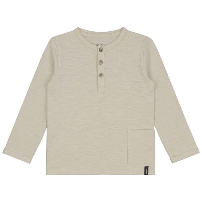 Prénatal peuter jongens t-shirt - Light Brown Melange
