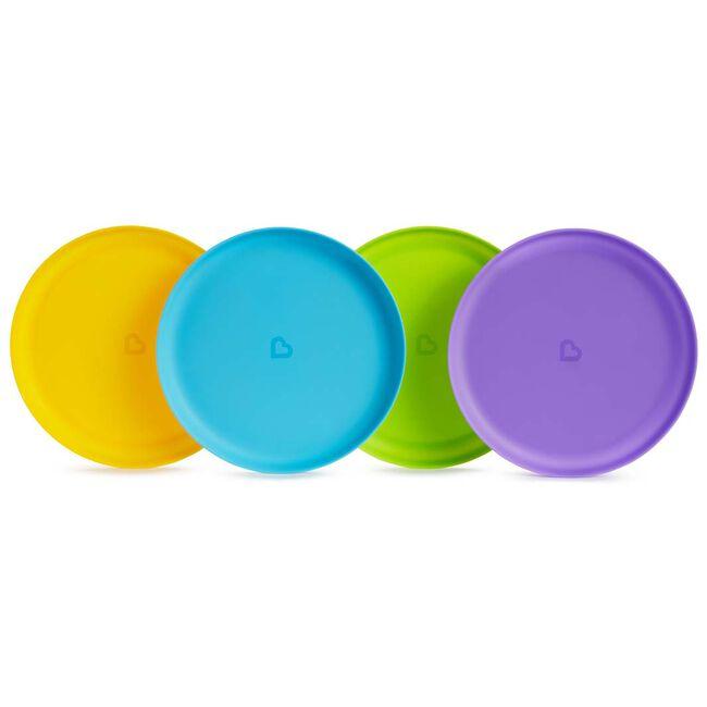 Munchkin Feeding Plates 4 stuks - Multi