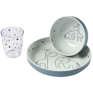 Done By Deer Yummy mini dinner set Dreamy dots -