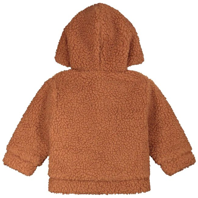 Prenatal newborn unisex teddy jas - Orange Brown