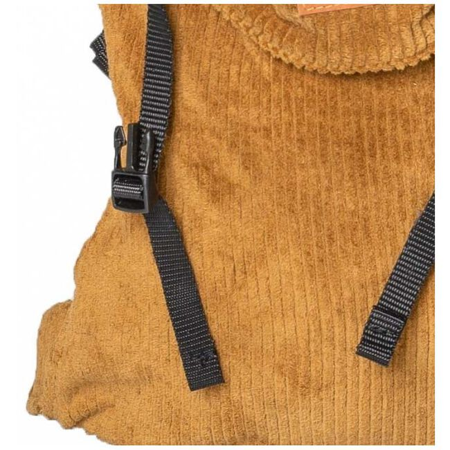 ByKay Click Carrier Classic ribbed velvet - Mustard Brown
