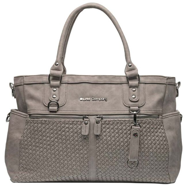Little Company luiertas Monaco Braided - Taupe