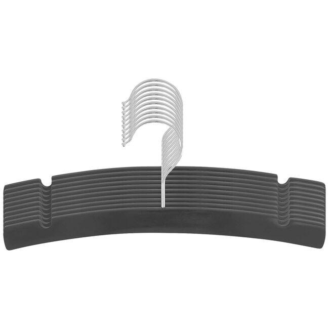 Prénatal kledinghanger hout 10 stuks - Graphite Grey