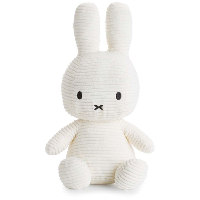 Nijntje knuffel corduroy 33cm - Off-White