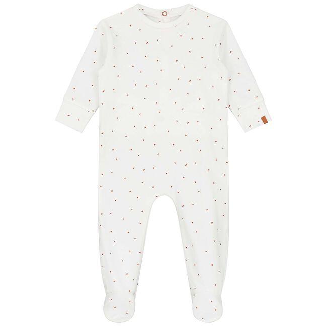Prénatal baby unisex pyjama - Ivoor Wit