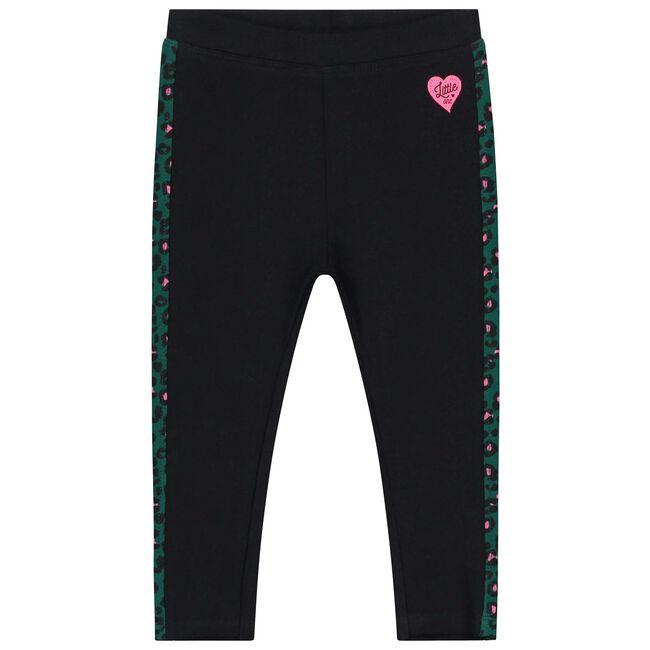 Prénatal peuter meisjes legging - Black