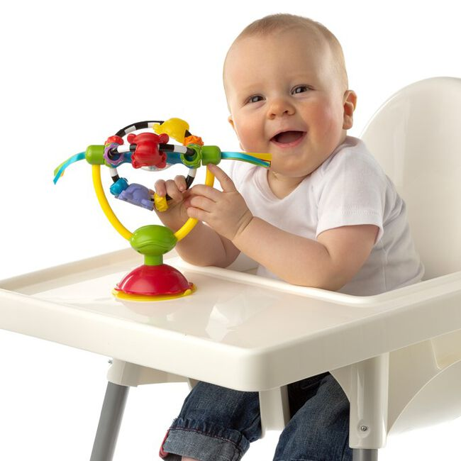 Playgro High Chair Spinning Toy kinderstoelspeeltje - Multi