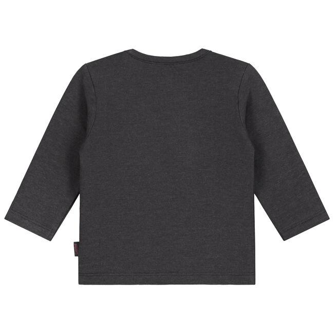 Prenatal newborn unisex shirtje - Deep Grey Melange