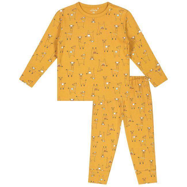 Prénatal peuter unisex pyjama - Darkyellow