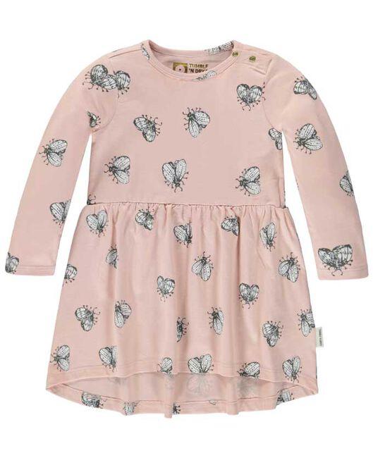 3c0bdf9308e2ad Tumble  n Dry peuter meisjes jurk - Pink