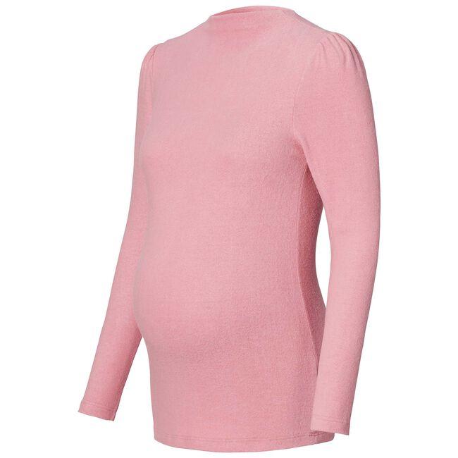 Supermom zwangerschapsshirt - Blossom Pink