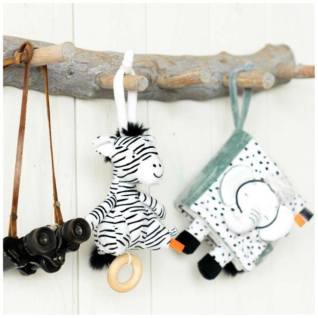 Prenatal muziekdoosje zebra -
