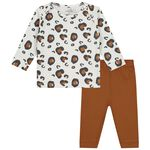 Prénatal baby pyjama - Ivoor Wit