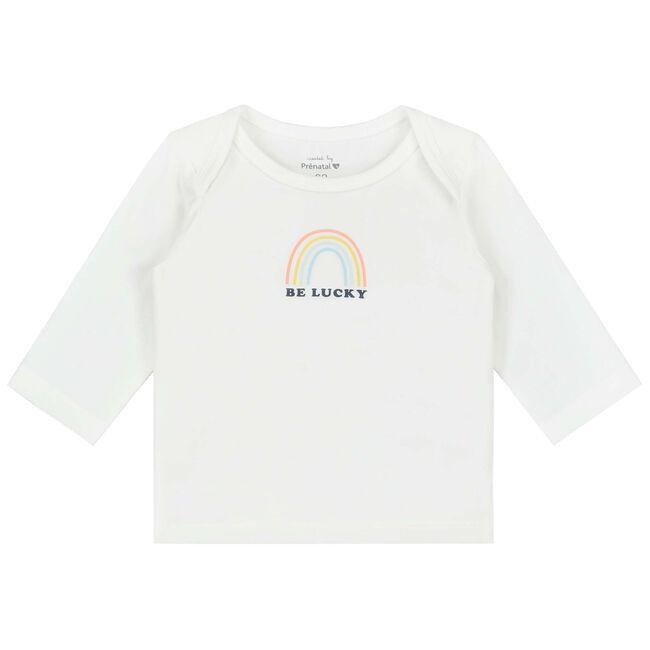 Prénatal newborn unisex shirt - White