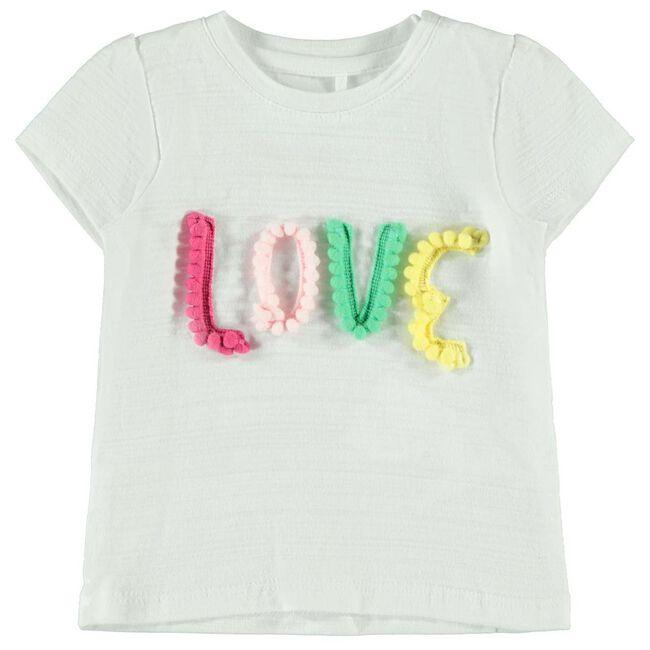 Name it baby meisjes T-shirt - White