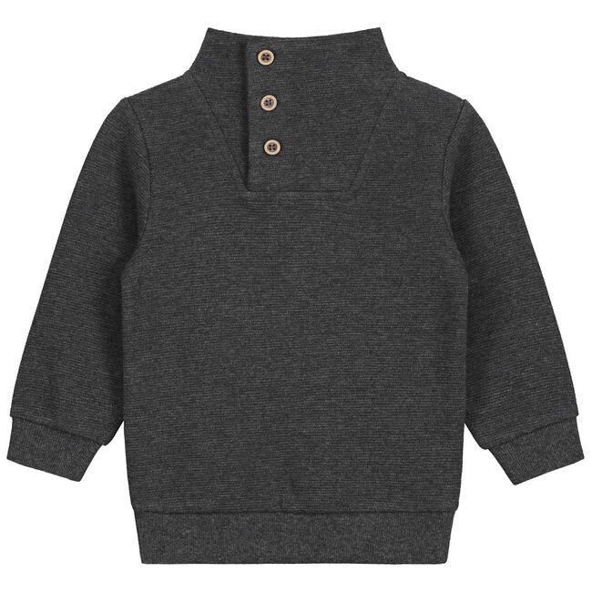 Prénatal baby jongens sweater - Rock Grey Melange