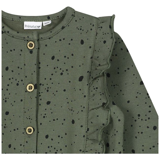 Prenatal peuter meisjes jumpsuit - Olivegreen