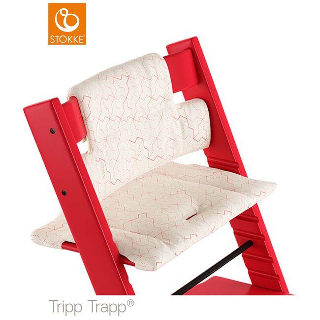 Stokke Tripp Trapp kussentje - Geometric Red