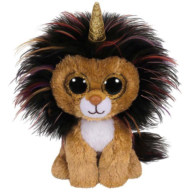 TY beanie boo's ramsey lion 15cm - Multi