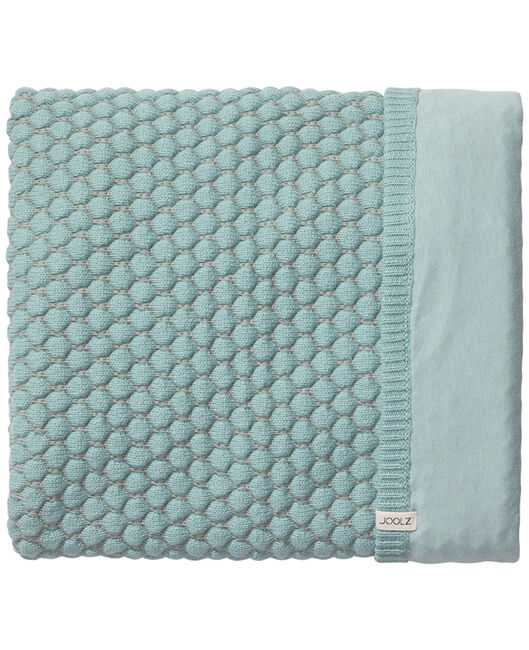 Joolz Essentials deken Honeycomb mint - Mintgreen