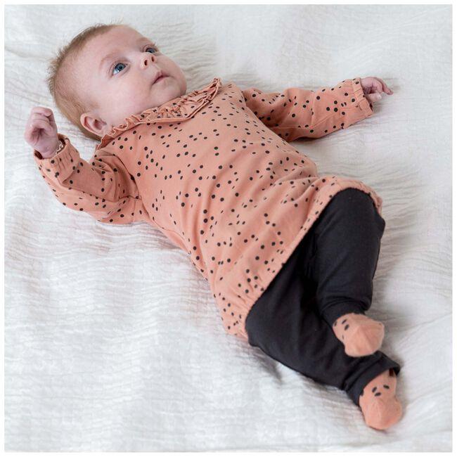 Prénatal baby meisjes jurk - Salmon