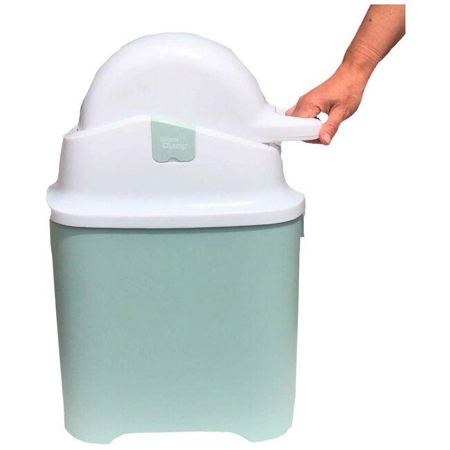 Diaper Champ ONE - Light Mint Green