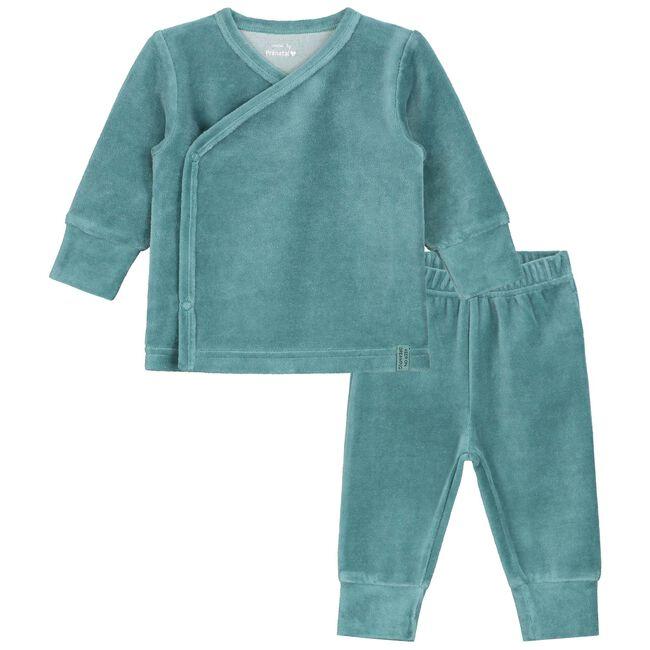 Prénatal jongens baby pyjama - Dark Aqua