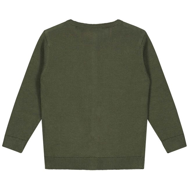 Prénatal baby meisjes vest - Olivegreen